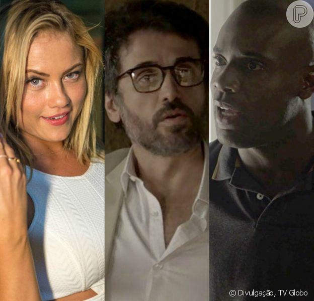 Suzy (Ellen Rocche) revela traições de Samuel(Eriberto Leão) para Cido (Rafael Zulu): 'Tigrete voltou a ser Tigrão'