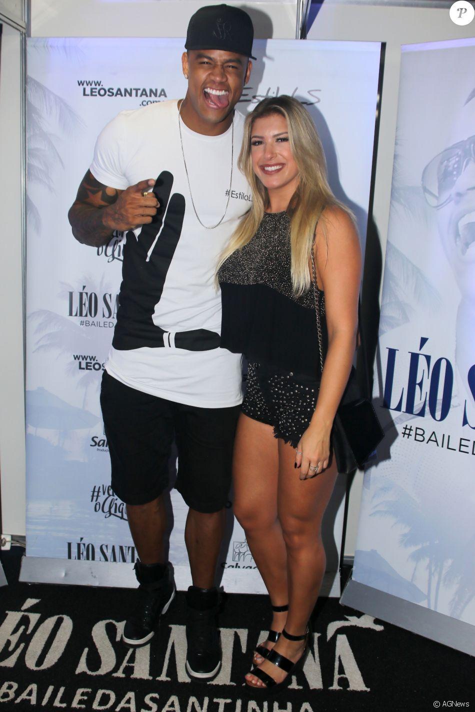 Léo Santana confirma fim de noivado com Lorena Improta: 'Isso acontece com qualquer outro casal. Infelizmente não deu certo, bola para frente'