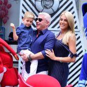 Ana Hickmann recebe Ticiane Pinheiro na festa de 4 anos do filho, Alexandre Jr.