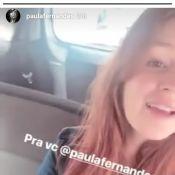 Marina Ruy Barbosa canta música de Paula Fernandes e sertaneja elogia: 'Tem voz'