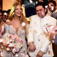 O casamento de Luísa Sonza e Whindersson Nunes reuniu cerca de 350 convidados
