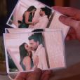 As fotos tiradas de Gustavo (Carlo Porto) com a modelo sugerem que os dois são amantes, na novela 'Carinha de Anjo'