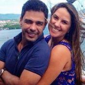Zezé Di Camargo diz que foi difícil conquistar Graciele Lacerda: 'Deu trabalho'