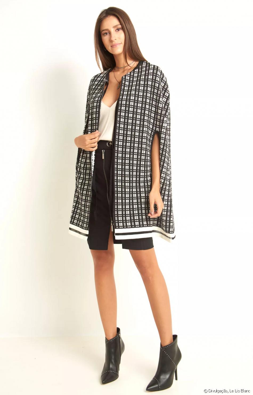 bc86704a2 Capa Ale de tricot da Le Lis Blanc pode ser encontrado na loja virtual da  marca por R  899