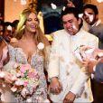 Luísa Sonza compartilhou um vídeo do casamento com Whindersson Nunes