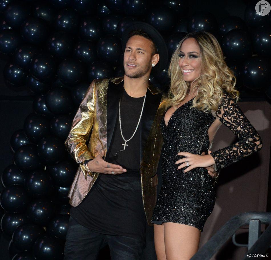 Bruna Marquezine e Neymar protagonistas em festa da irmã do craque