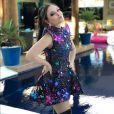 Larissa Manoela levou os seguidores ao delírio ao postar fotos ao lado de Katy Perry. ' Sortuda!!', escreveu uma internauta
