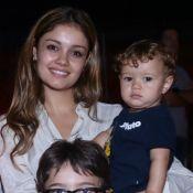 Sophie Charlotte e Daniel de Oliveira fazem festa de 2 anos para o filho, Otto