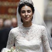 Gazar de seda e renda chantilly: o vestido de casamento da Princesa de Hannover