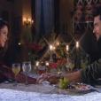 Gustavo (Carlo Porto) e Cecília (Bia Arantes) saem para jantar, no capítulo que vai ao ar sexta-feira, dia 30 de março de 2018, na novela 'Carinha de Anjo'