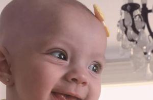Filha de Eliana, Manuela esbanja fofura ao sorrir em foto: 'Meu sol'