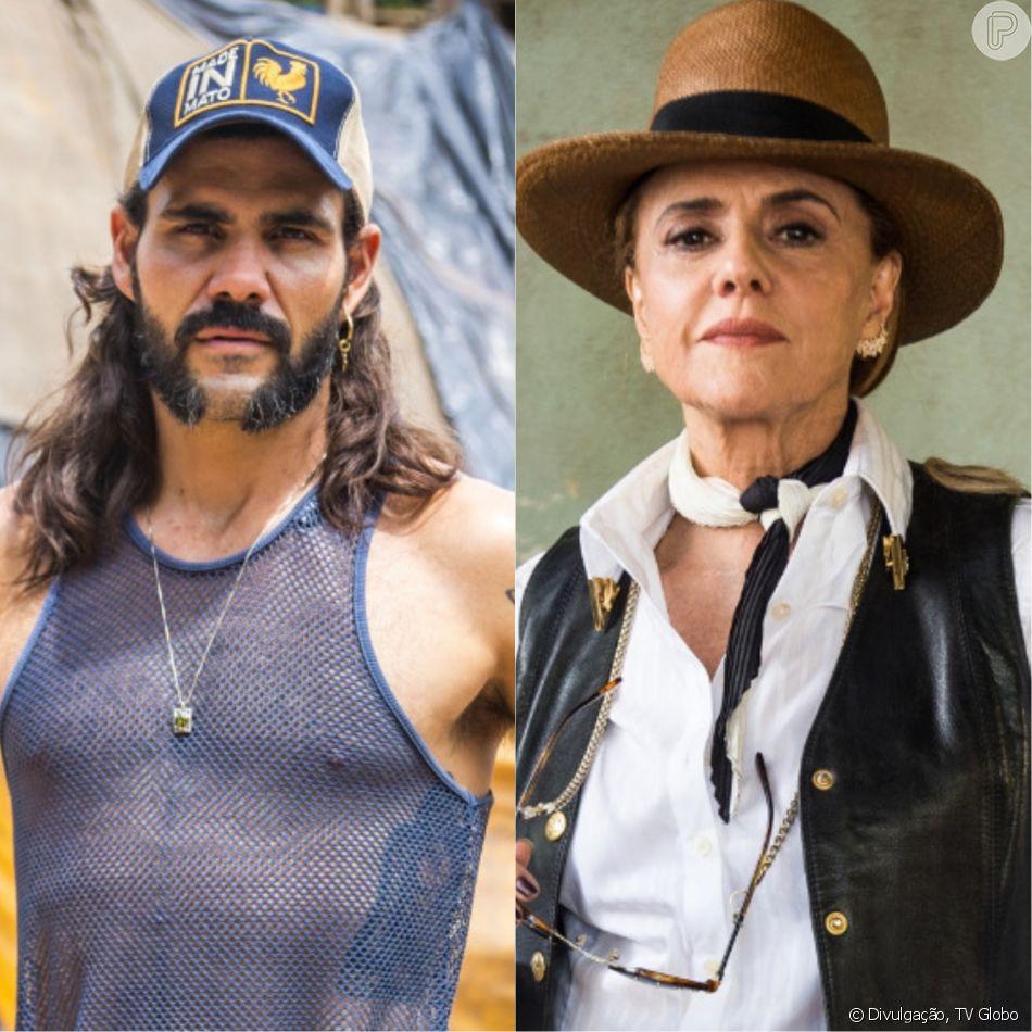 Mariano (Juliano Cazarré) jura vingança de Sophia (Marieta Severo) na reta final da novela 'O Outro Lado do Paraíso': 'Quero dar o troco!'