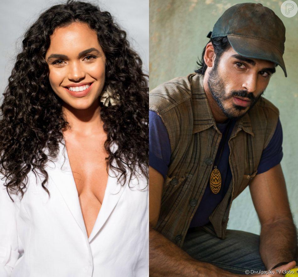 Cléo e Xodó na novela 'O Outro Lado do Paraíso', Giovana Cordeiro nega romance com Anderson Tomazini: 'Somos só amigos'
