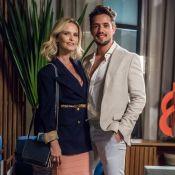 'O Outro Lado do Paraíso': interesses unem Renato e Fabiana. 'Tesão no poder'