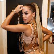 Anitta explica novo clipe ao vivo em aniversário: 'Rodou, transmitiu e salvou'