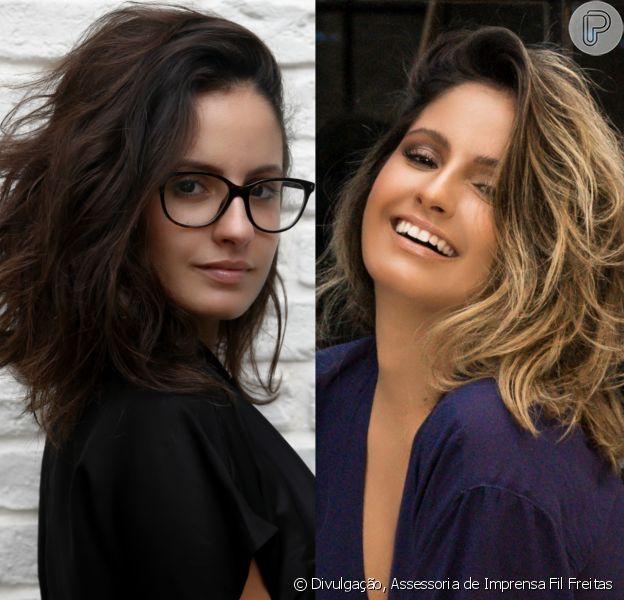 Amanda de Godoi clareou o cabelo após o fim das gravações da novela 'Tempo de Amar'