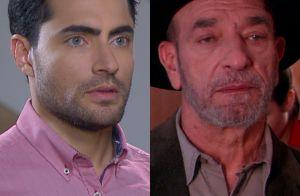 'Carinha de Anjo': Gustavo enfrenta Adolfo, que rejeita a neta, Dulce Maria