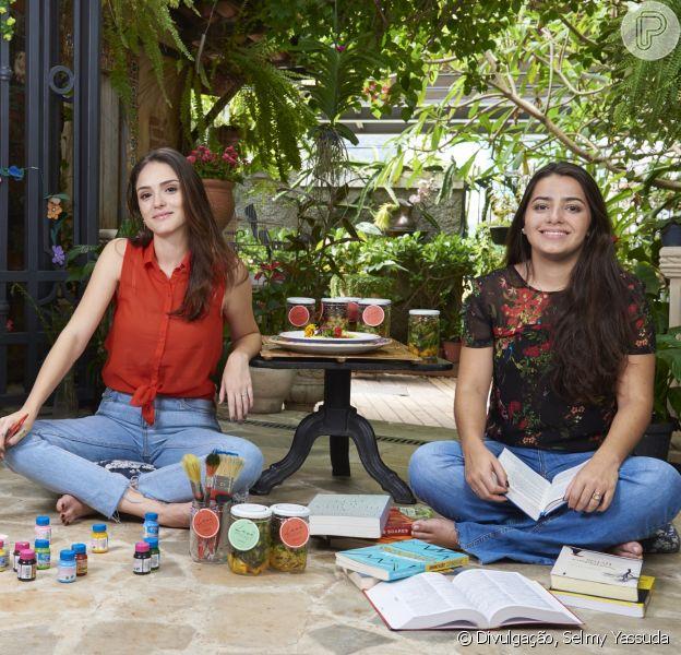 Isabelle Drummond e Mariana Fernandes comandam a Levê, um delivery de comidas frescas e saudáveis