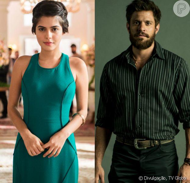 Adriana (Julia Dalavia) inicia namoro com Nicolau (Alexandre Claveaux) no capítulo que vai ao ar dia 26 de abril de 2018, na novela 'O Outro Lado do Paraíso'