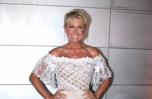 Xuxa quebra o pé durante ensaio do 'Dancing Brasil' e lamenta: 'Queria dançar'