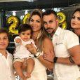 Mulher do empresário Mico Freitas, Kelly Key também é mãe de Suzanna, de 17 anos, e Jaime Victor, de 12