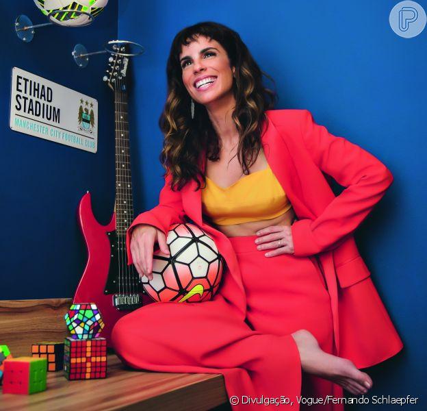 Fim de casamento não traumatizou Maria Ribeiro, como atriz afirma em entrevista à revista 'Vogue' divulgada nesta segunda-feira, dia 02 de abril de 2018