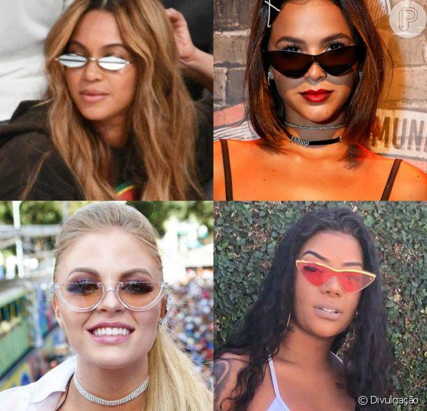 Óculos com pegada retrô conquistam famosas nacionais e internacionais: