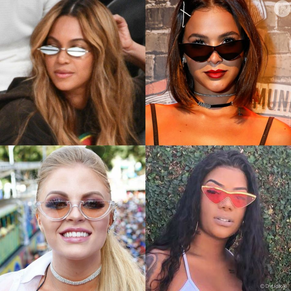 6ef5e32f73d34 Óculos com pegada retrô conquistam famosas nacionais e internacionais