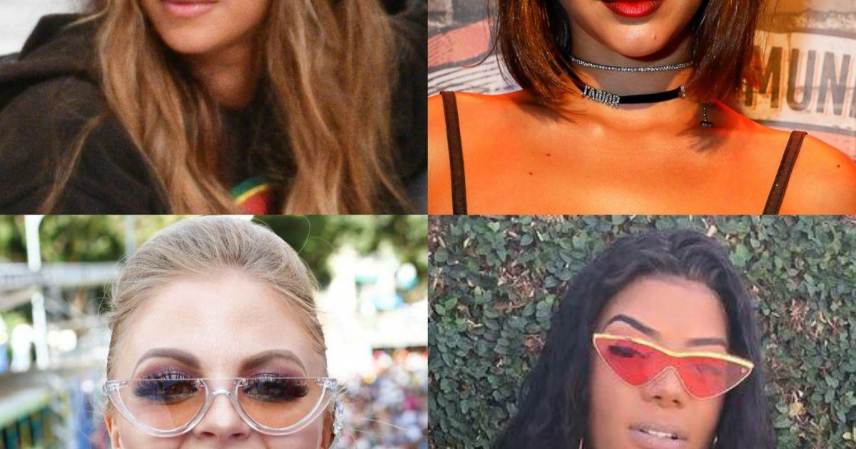 Bruna Marquezine, Beyoncé e mais famosas apostam em óculos retrôs   Aposta  da temporada  - Purepeople c8769d7124
