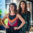 Clara (Bianca Bin) e Lívia (Grazi Massafera) se unem para resgatar Tomaz (Vitor Figueiredo) de sequestro, na novela 'O Outro Lado do Paraíso'