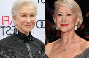 Aos 72 anos, Helen Mirren adere à micropigmentação de sobrancelhas: 'Forma leve'
