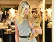 Lala Rudge leva sua cachorrinha, Gigi, a evento em loja. Veja fotos!