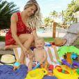 Karina Bacchi está curtindo o final de semana com Enrico em resort com diárias a partir de R$ 3199