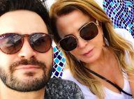 Zilu Camargo posa com o namorado, Marco Augusto Ruggiero: 'Amando cada momento'