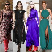 Leveza com toque de atitude: veja como combinar vestidos fluidos e botas!