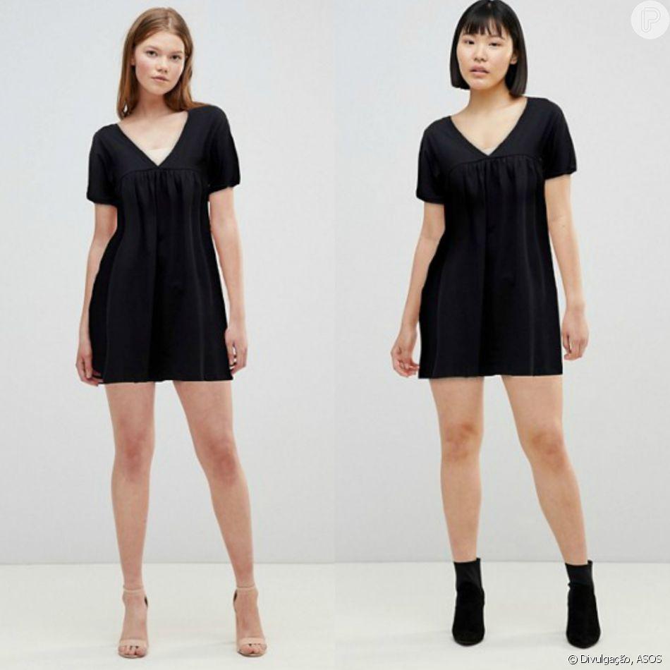 b452e754a A diferença de tamanho das roupas da ASOS não altera seu preço ...