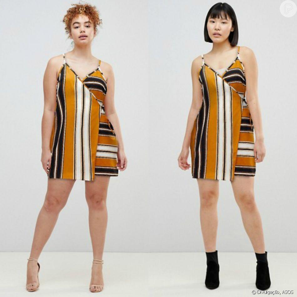 ff268f021 Marca inglesa ASOS usa modelos de diferentes tamanhos para exibir mesmo look  em divulgação online de