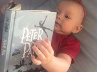 Eliana posta foto da filha, Manuela, com livro na mão: 'Momento de leitura'