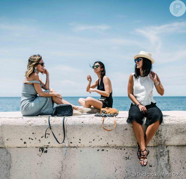 Viajar entre amigas é muito divertido e, em entrevista para o Purepeople, Luisa Accorsi dá dicas e conta as experiências que viveu na companhia delas
