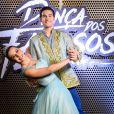 Nicolas Prattes e Mayara Araújo formaram dupla na última temporada do 'Dança dos Famosos'
