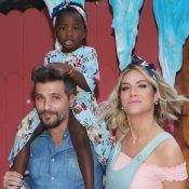 Titi parabeniza o pai, Bruno Gagliasso, em aniversário: 'Eu te amo muitão'