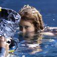 Marina Ruy Barbosa  encarou mergulhar com cauda para campanha publicitária