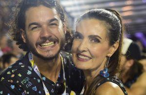 Fátima Bernardes passa fim de semana com namorado em PE: 'Eu e ele'