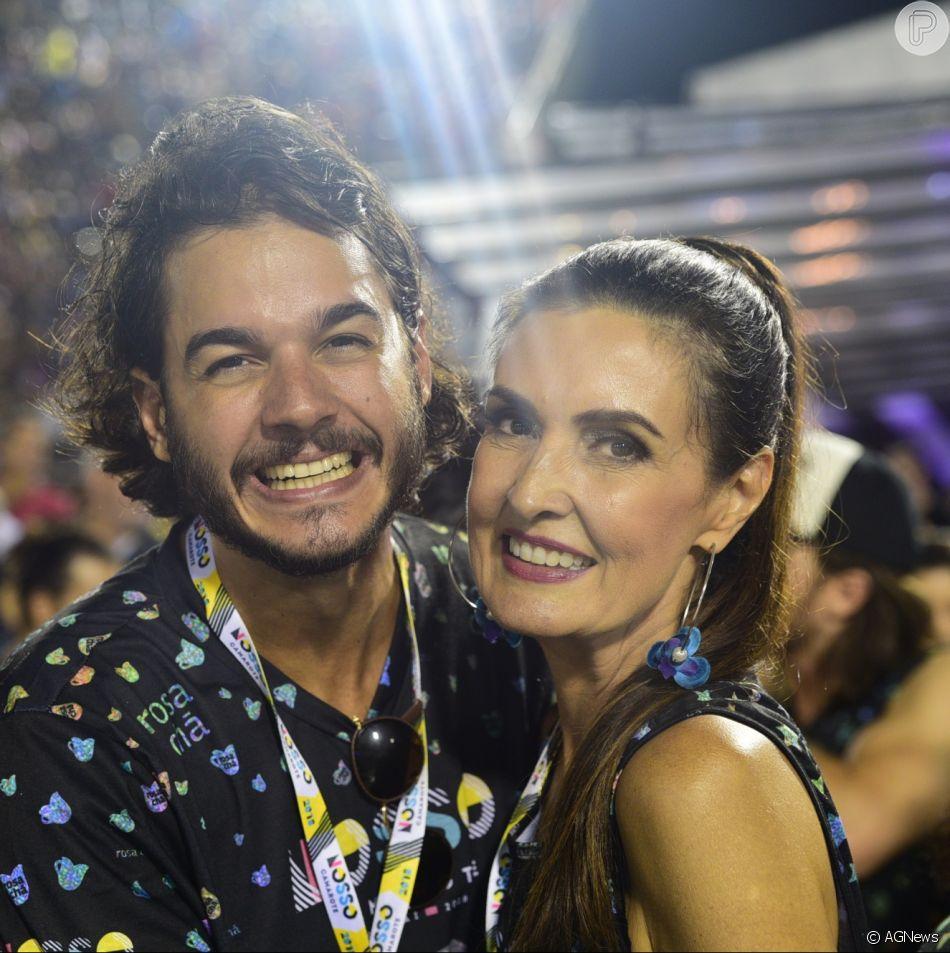 Fátima Bernardes e Túlio Gadêlha passaram o fim de semana juntos em Porto de Galinhas, Pernambuco. Veja a foto abaixo!