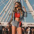 Veja os looks estilosos usados no Coachella 2018, realizado na Califórnia, nos Estados Unidos