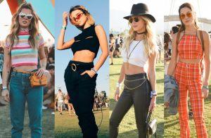 Street style Coachella: pochete, botas e óculos retrô reinam em festival. Fotos!