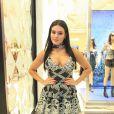 Leticia Lima  falou sobre sua relação com a moda  nesta segunda-feira, 16 de abril de 2018