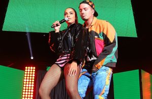 Conjunto Dior e bota over the knee: o look de Anitta em show em Miami. Fotos!