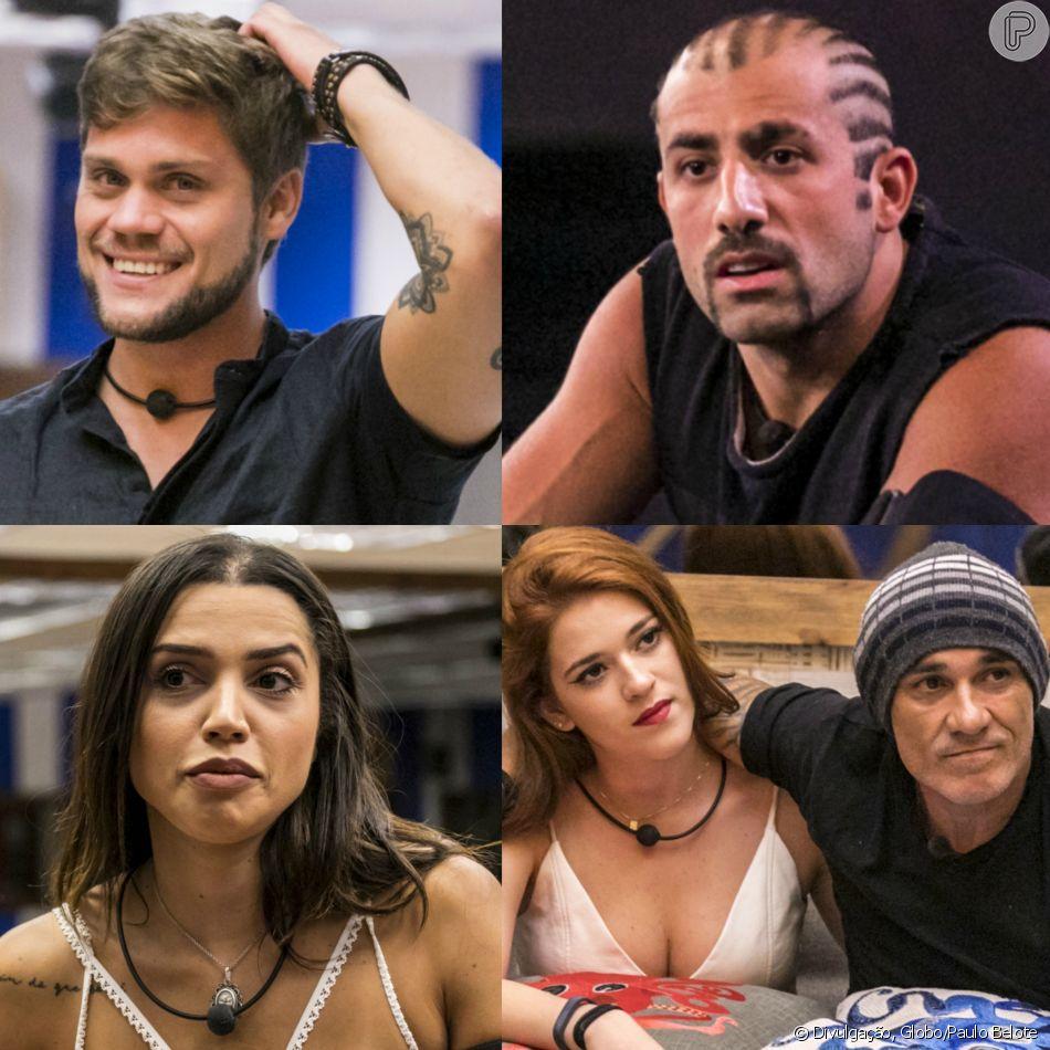 'BBB18': Breno é eliminado, Kaysar vira Líder e Paredão tem Paula e família Lima durante programa desta segunda-feira, dia 16 de abril de 2018
