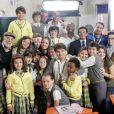 Elenco de 'Carrossel' grava as últimas cenas no cenário da Escola Mundial nos estúdios do SBT, em fevereiro de 2013